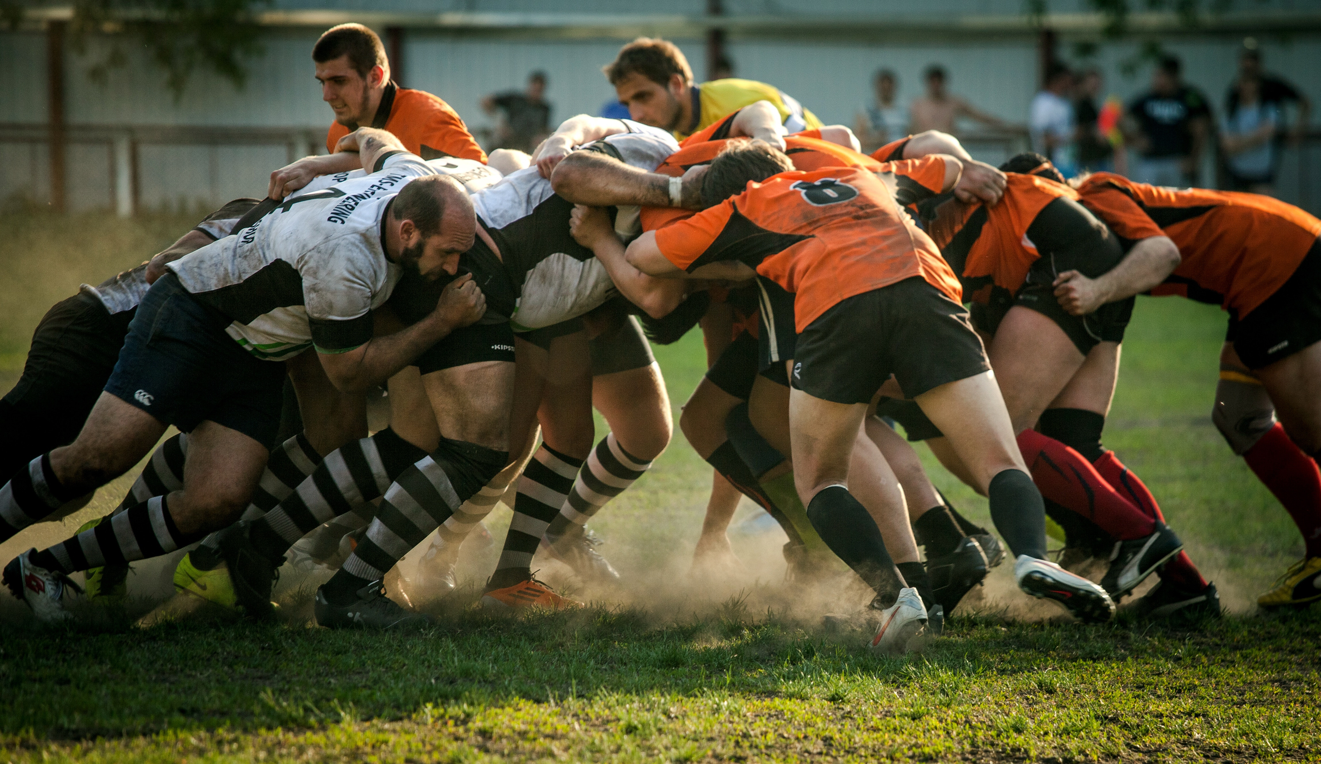 rugby, block